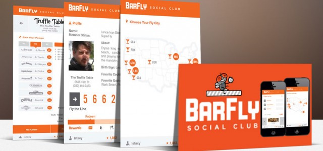BarFly SC Mobile App Screen Shots