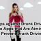 Apps against Drunk Driving